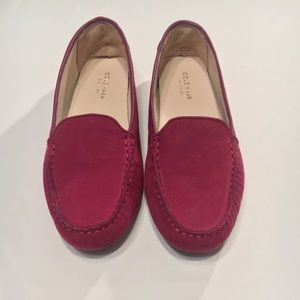 Cole Haan Grand.OS Burgundy Loafers
